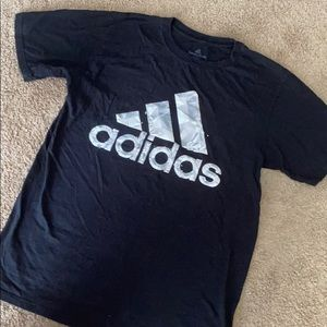 Black Adidas T-shirt Men's Size Medium